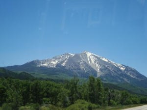 View of Mt. Sopris from Carbondale