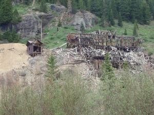 Mining ruins on Imogene
